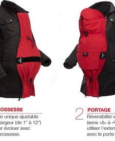 Extension Deluxe pour Manteaux Kokoala - Noire - Taille Unique