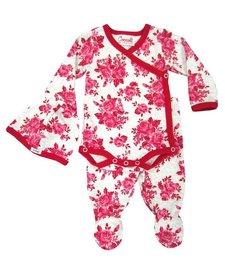 Ensemble Pyjama 3 Pièces Fleuri de Coccoli/ Cotton Kimono