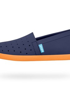 Souliers Native Venice Child Regatta Blue/Begonia Orange
