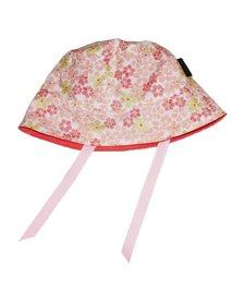 Chapeau Réversible Alice et Simone avec Fleurs/Summer Hat with Flowers