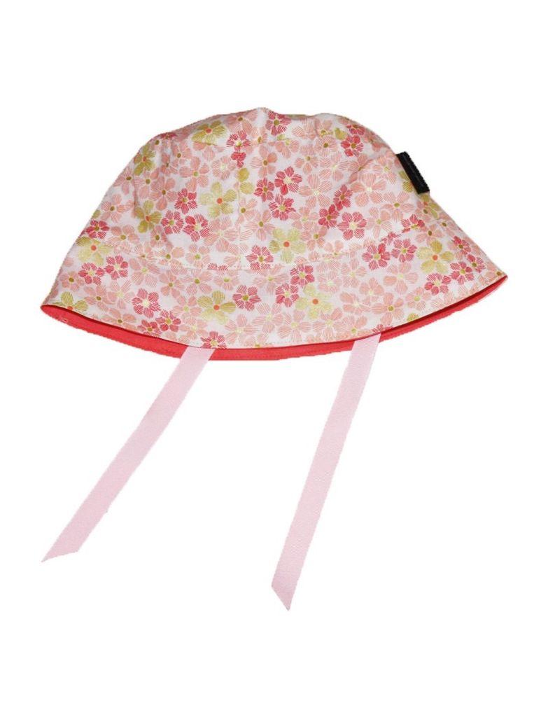 Alice et Simone Chapeau Réversible Alice et Simone avec Fleurs/Summer Hat with Flowers