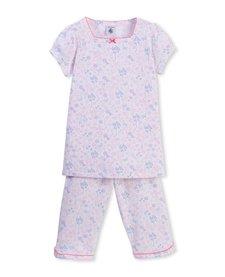 Pyjama Fleuri Deux Pièces de Petit Bateau/Pyjama With Flowers Two Pieces