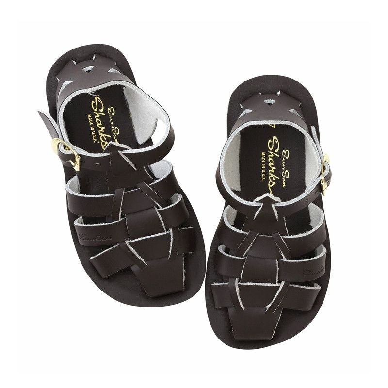Salt Water Sandals Sandales Shark pour Bébés de Salt Water/ Shark Toddler