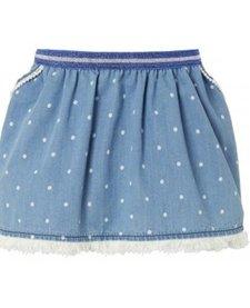 Jupe Imitation Jean avec Pois de Noppies/ Skirt WVN Short Pipa Dot