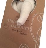 Papoum Papoum Néléphant Doudou Tout Bio de Papoum Papoum/ Elephant Bio Blanket