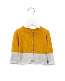 Cardigan 2 Couleurs Imps&Elfs/Cardigan Long Sleeve Harvest Gold