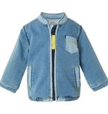Noppies Veste à Zipper en Jeans de Noppies/ Cardigan Sweat Zac Light Stone Wash