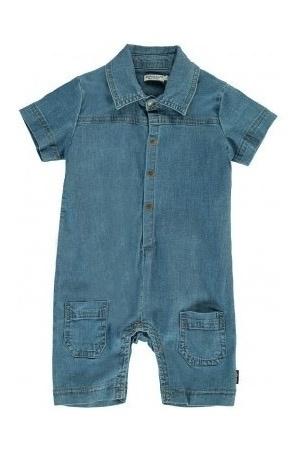 Imps&Elfs Barboteuse en Jeans Imps&Elfs/Shortall Short Sleeve Denim