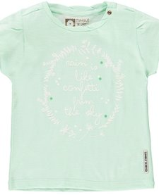 Chandail à Manches Courtes de Tumble 'N Dry/ Jikke Soft Mint Shirt