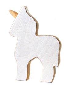Licorne en Bois Recyclé d'Atelier Saint-Cerf/ Wooden Unicorn-Blanc