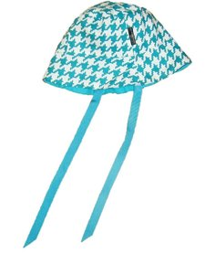 Chapeau Réversible Alice et Simone avec Carreaux/Summer Hat
