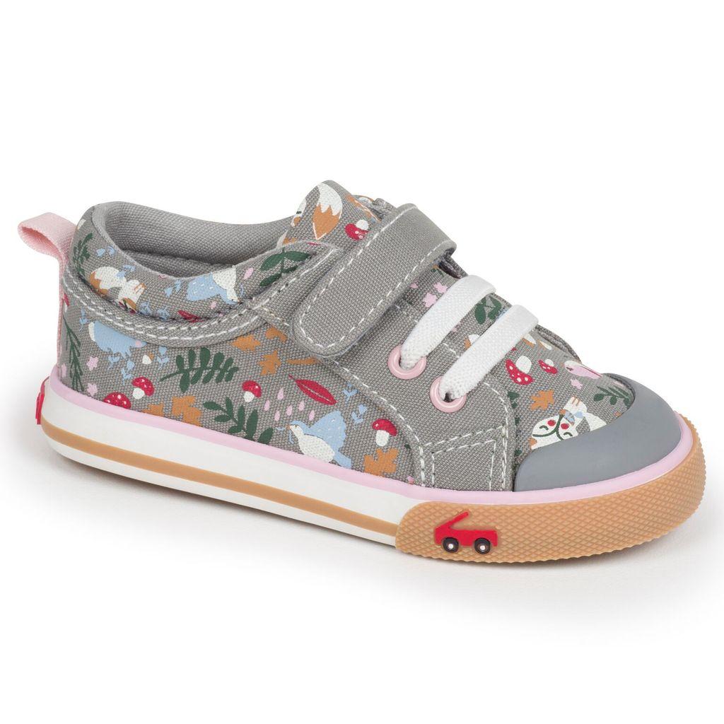 See Kai Run Souliers Kristin Gray/Woodland Print See Kai Run Sneakers