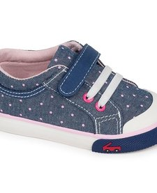 Souliers Kristin Blue/Dots See Kai Run Sneakers
