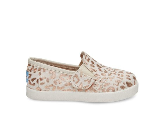TOMS FW16-Chaussures Toms Avalon Sneaker Natural Cheetah Foil