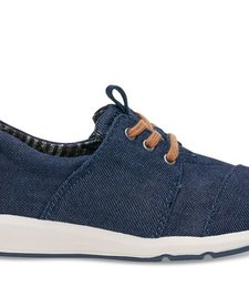 FW-16 Chaussures TOMS Shoes Del Rey Blue Denim Youth