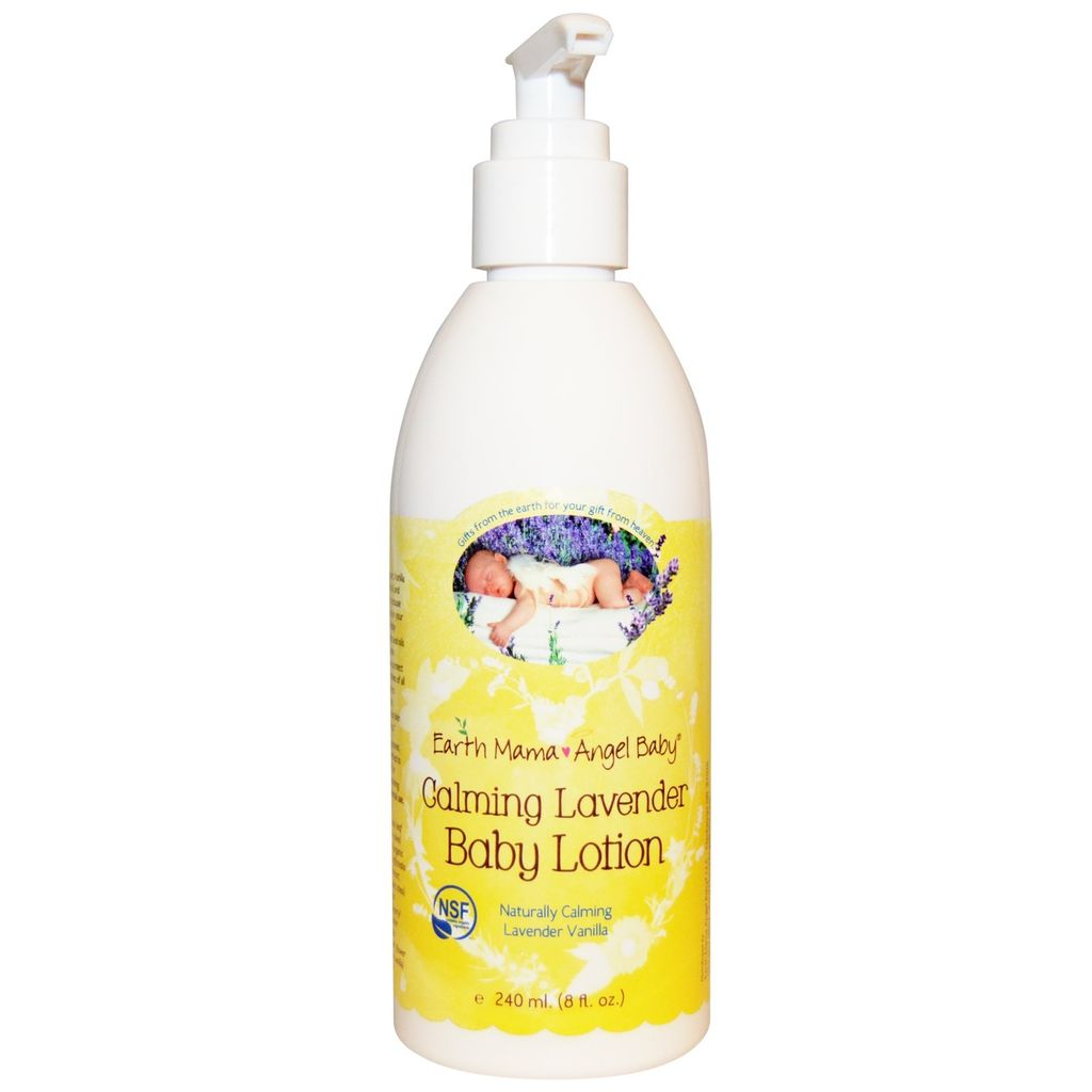 Earth Mama Angel Baby Lotion pour Bébé à la Lavande Earth Mama Angel Baby - Calming Lavender Baby Lotion