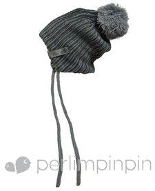 FW17 Tuque Acrylique à Pompon de Perlimpinpin/ Winter Hat