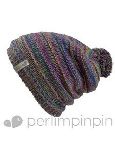 FW16 Tuque Acrylique de Perlimpinpin/ Winter Hat, Multicolore, 6-10A