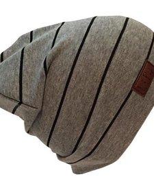 Tuque de Coton Lignée Ultra Stylée de L&P/Ultra Trendy Cotton Beanie