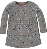 Tumble 'N Dry FW16 Robe à Motifs de Tumble N'Dry/Cawan Girls Lo DR Grey Melange