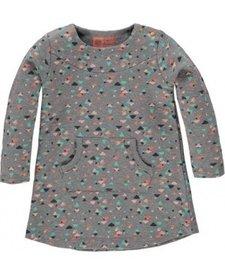 FW16 Robe à Motifs de Tumble N'Dry/Cawan Girls Lo DR Grey Melange