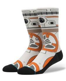 Bas Adultes Instance Star Wars BB8 / Adult Socks SW BB8 Tan