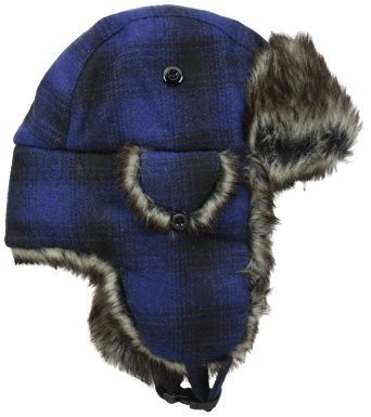Appaman FW16 Tuque à Oreille Appaman/Muscle Trapper Hat Heather DRESS BLUES