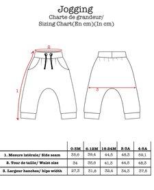 FW16 Jogging Denim Electrik Kidz / Denim Sweat Pant