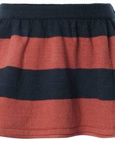 FW16-Jupe Lignée Noppies/G Skirt Knit Short Bowie Str