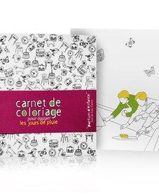 Carnet de Coloriage Parfum d'enfance de Mon Petit Art/ Coloring Book