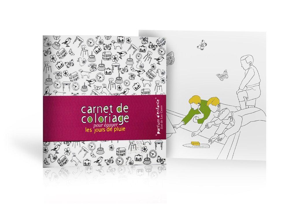 Mon Petit Art Carnet de Coloriage Parfum d'enfance de Mon Petit Art/ Coloring Book