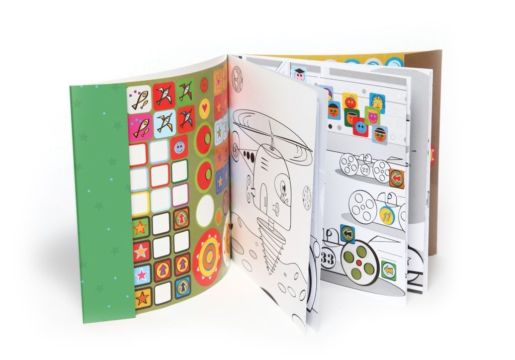 Mon Petit Art Cahier de Gommettes Véhicules Extraordinaires de Mon Petit Art/ Stickers Book