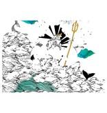 Mon Petit Art Coloriage Merveilleux 12 Mythes Grecs Mon Petit Art/ Coloring Book Greek Mythology