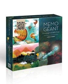 Jeu de Mémoire Géant Les Voyages de Jules Verne