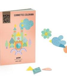 Cahier de Gommettes Colorama Pastel de Mon Petit Art/ Stickers