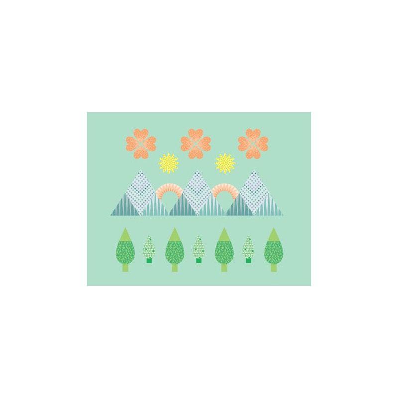 Mon Petit Art Cahier de Gommettes Colorama Pastel de Mon Petit Art/ Stickers