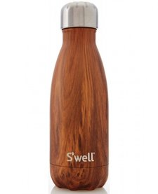 Bouteille S'well 260ml Bois/ S'Well Bottle Teakwood 9oz