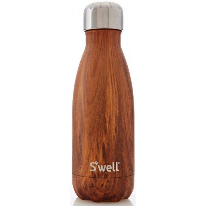 S'Well Bouteille S'well 260ml Bois/ S'Well Bottle Teakwood 9oz
