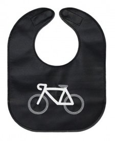 Bavette en cuir de Mally Designs Monochrome Bicycle Leather Bib