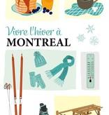 lili graffiti Carte Postale Montréal en Hiver de Lili Graffiti