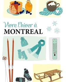 Carte Postale Montréal en Hiver de Lili Graffiti