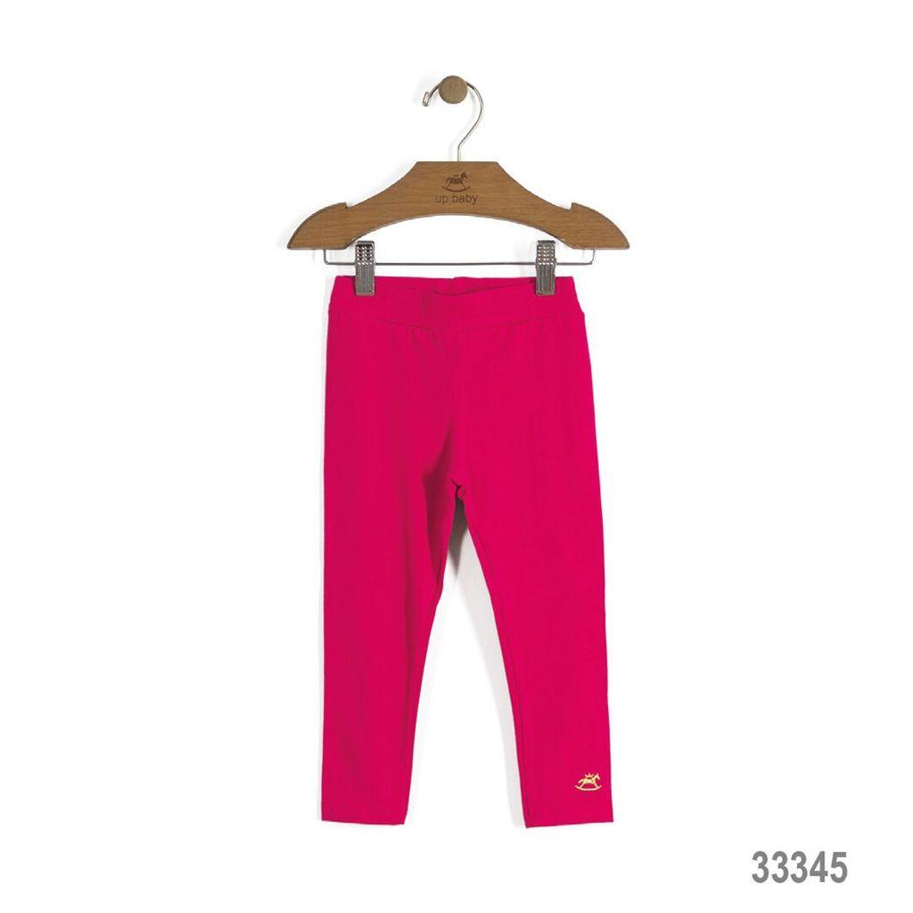Up Baby SS17 Legging Uni Up Baby/ Girls Solid Single Jersey Legging Pink