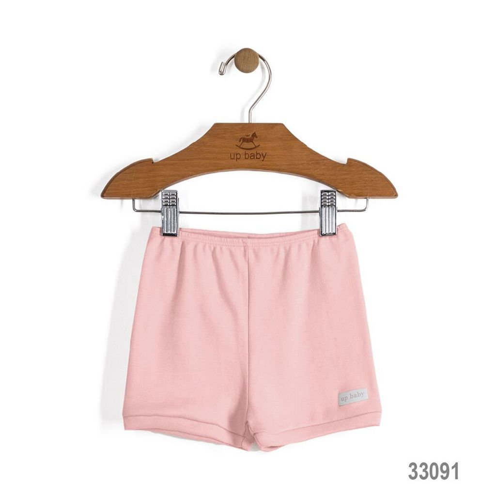 Up Baby SS17 Culottes Courtes Up Baby/ Solid Jersey Cotton Shorts Pink