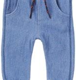 Noppies SS17-Pantalons Conforts de Noppies/ B Pant Jersey Curved Duma Indigo
