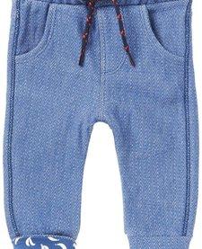 FW17-Pantalons Conforts de Noppies/ B Pant Jersey Curved Duma Indigo