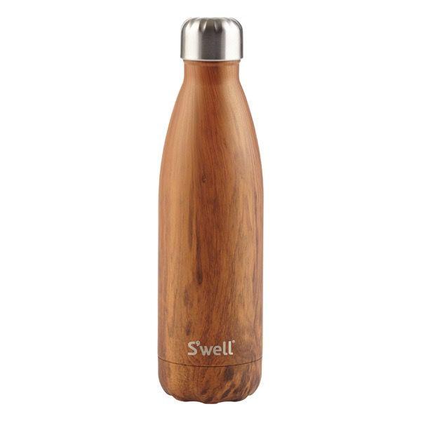 S'Well Bouteille S'well 500ml Bois/ S'Well Bottle Teakwood 17oz