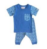 Coccoli SS17 Pyjama 2 Pièces à Motifs de Coccoli/ Cotton 2 Pieces
