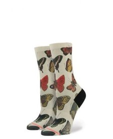 Bas inStance / Kids Socks Flutterbye Girls Natural (Taille 2-5.5)