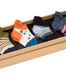 Boîte de 6 Paires de Bas inStance / Girls Chicklet Infant Multi Box of 6