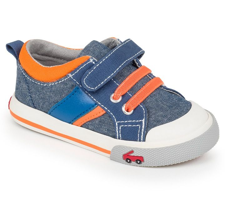 See Kai Run SS17 Souliers Sammi Blue/Orange See Kai run Sneakers